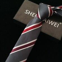 1200 pin Высокое качество Новые свадебные подарки цветочный галстук gravata тонкие галстуки для мужчин в полоску 6 см corbatas hombre lote галстук в горошек