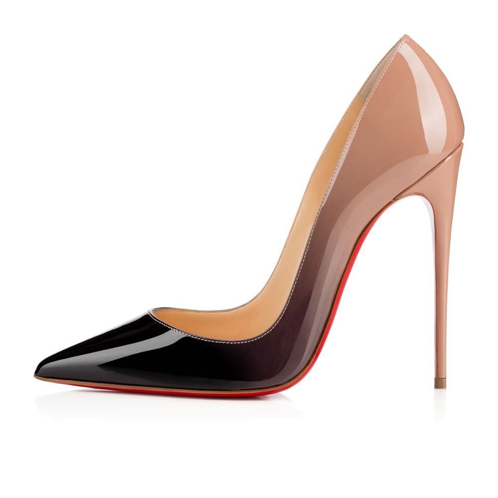 5983afc6361 Size 35 42 B rand So kate Pumps Red Bottom High Heels ombre Pigalle ...