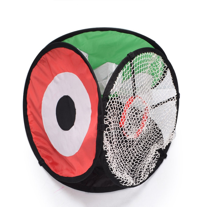 ФОТО New Golf Practice Net Durable Multifunction 3 Side Hitting Chipping Training Aid Chipping Net
