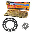 520-50T/13T Motorcycle Chain Front Rear Sprocket Kit for Kawasaki KX450F 2006-2016 2007 2008 2009 2010 2011 2012 2013 2014 2015