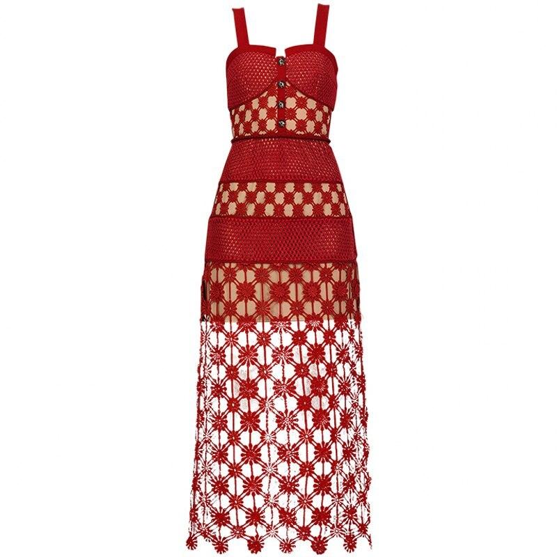 2019 새로운 도착 여자 빨간 드레스-에서드레스부터 여성 의류 의  그룹 1