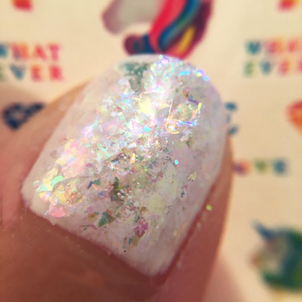 Płatki wielorazowe Płatki holograficzne UNICORN Płatki - Sztuka zdobienia paznokci - Zdjęcie 2