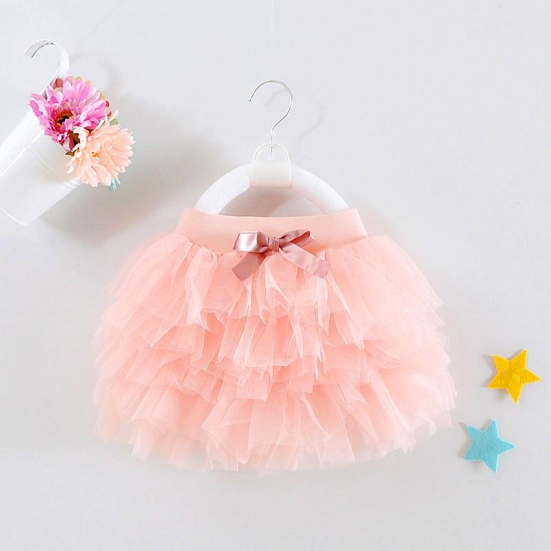1 Jaar Oude Baby Meisje Rok Tutu Roze Mini Gelaagde Vestido 2019 Zoete Sash Peuter Baby Kleding Voor 9 12 24 Maand Rbs174001 Zorgvuldig Geselecteerde Materialen