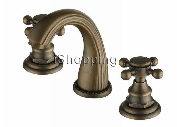 Pastorale estilo de bronce antiguo Bar cuenca del grifo para baño ...