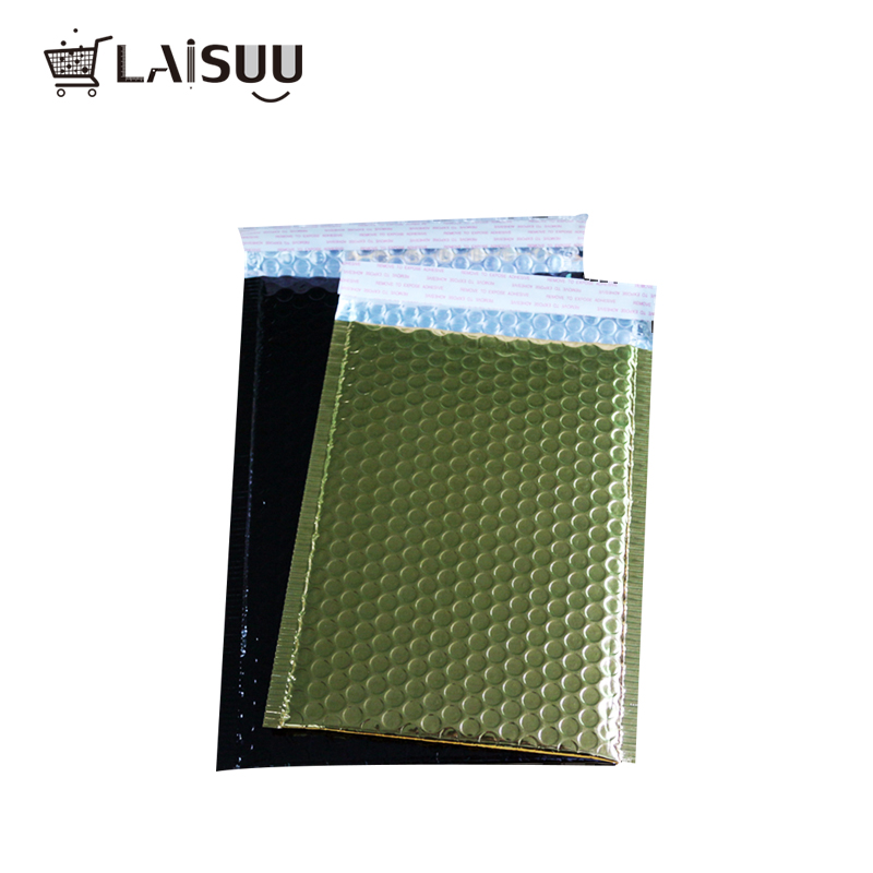 Color aluminized bubble bag Thicken bubble envelope High-end co-extruded film clothing express foam envelope