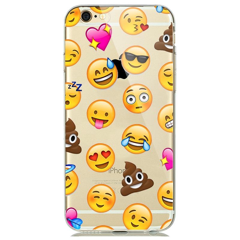 0 78 9 De Réduction Dessin Animé Animaux Licorne Emoji étui Pour Capinhas Iphone 7 8 Plus 6 S 5 S Se Souple Silicone Caoutchouc Couverture Flamant