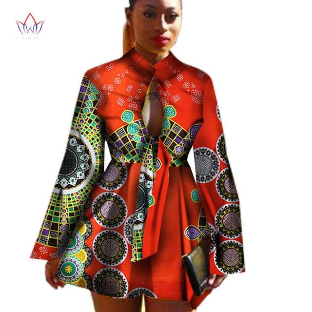 2019 African Dashiki traditional batik women coat robe longue femme print  Bazin Riche women coat plus size 5xl regular WY1378 561ffb2f50af