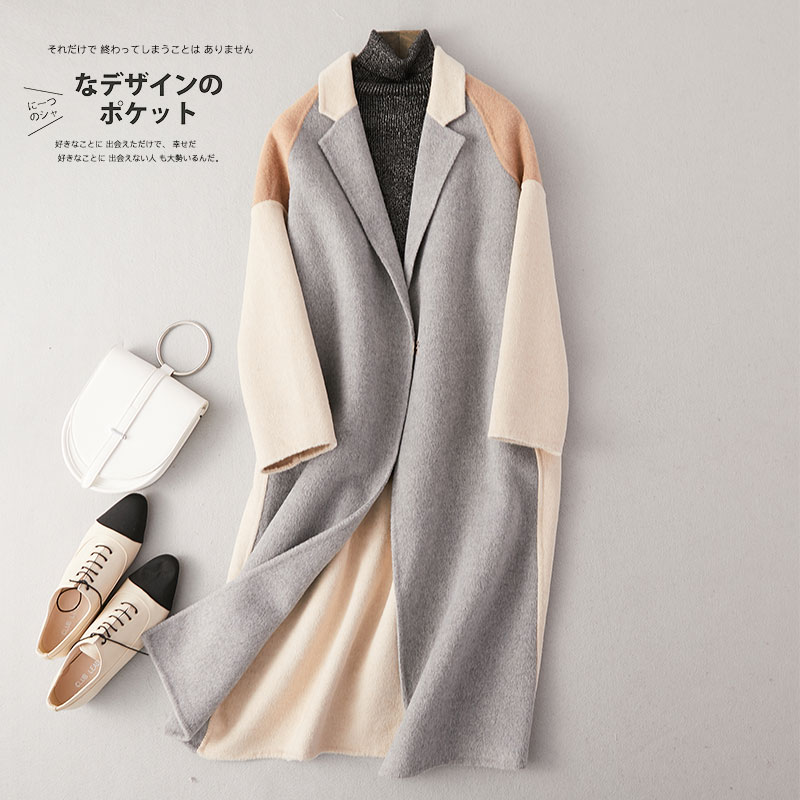 KMETRAM Real Wool Coat Female Jacket Autumn Winter Jacket Women Clothes 2019 Alpaca Korean Woolen Coats Casaco Feminino MY3356