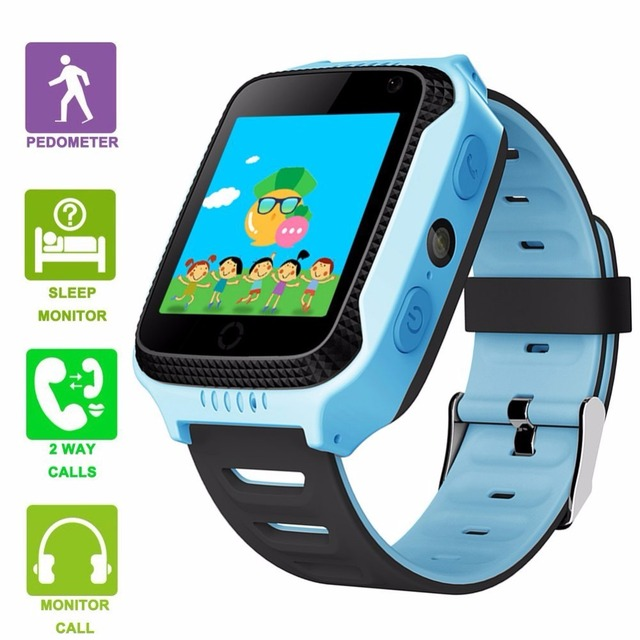 2017 Best Child Gps Tracker Smart Watch Touch Screen Sos Call Activity Phone Smarch Smat