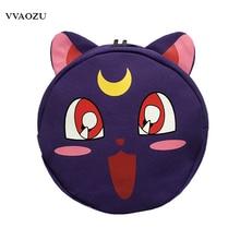 Anime font b Sailor b font font b Moon b font Harajuku Canvas Backpacks Cartoon 3D