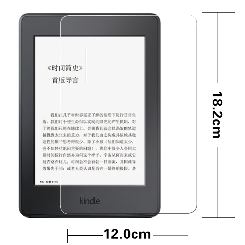Premium Anti shatter font b screen b font protective tempered glass film For Amazon Kindle Fire