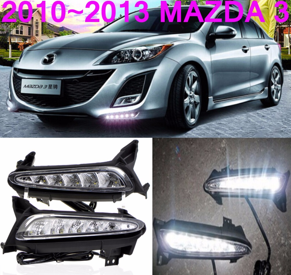 MAZD3 day light,Free ship to your door!MAZD 3,Axela fog lamp,cx-5 day lamp,LED,MAZD3 fog light,2ps/set;MAZD3 HEADLIGHT