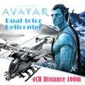 Filme AVATAR Dual-totor Protótipo RC Helicóptero Drone Aircraft Quadcopter Aeronaves de Grande Porte Modelo de Controle Remoto de Rádio 4CH Aviao