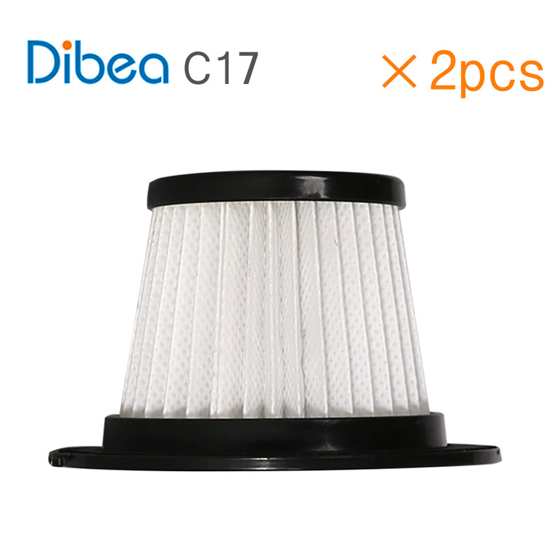 2PCS Replacement Hepa Filter For Dibea C17 Cordless Stick Vacuum Cleaner цена и фото