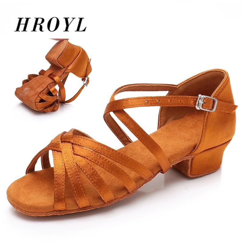 5cae019fd BEST SALE  EU24-42 Women Latin Dance Shoes Children Kids low heels ...
