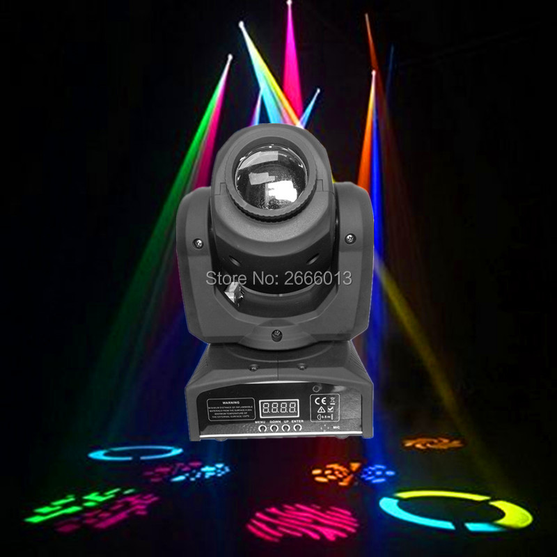 10W LED Moving Head Lights/10w spot light/LED gobo lamp/ LED dj disco lighting/Xmas lights 10w disco dj lighting 10w led spot gobo moving head dmx effect stage light holiday lights