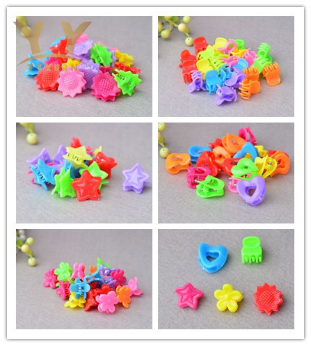 15 pieces lot YYXUAN Snap Clip kids girls Hair Clip Toddlers barrette Fine flower cartoon Hairpins hair accessories P5 6pcs lot kids glitter color hair snap clip kids stars headwear five pointed stars hairpins hair accessories