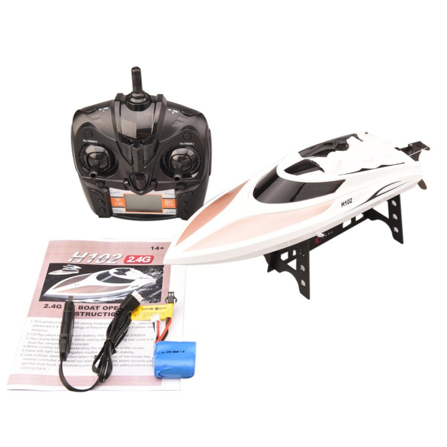 TK H102 Radio Controlled Toy High Speed Racing Rc Boat Lcd Screen 2.4g System remote control ship's wireless gift p35 remote controlled snake toy 4xaaa 1x9v