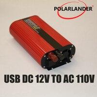 Polarlander Power Inverter Charger Vehicle Power Supply Switch 2000W Dual USB Car Inverter 12V 24V 110V