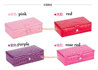 Jewelry Display Casket Jewelry Organizer Mini Earrings Ring Box Case For Jewlery Gift Box Jewerly