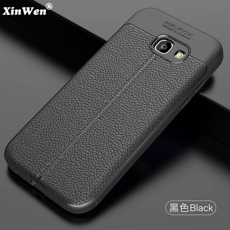 XinWen luxury phone <font><b>case</b></font> <font><b>for</b></font> <font><b>samsung</b></font> <font><b>galaxy</b></font> a5 <font><b>2017</b></font> <font><b>a</b></font> <font><b>5</b></font> a520 silicone silicon back etui,coque,cover, Soft tpu leather Pattern image