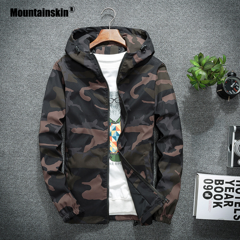 Mountainskin Men s New Jackets Spring Autumn Casual Coats Hooded Jacket Camouflage Fashion Male Outwear Brand Innrech Market.com