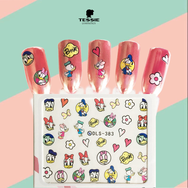 Aliexpress.com : Buy Tessie shop Donald Duck Decals Nail Stickers ...