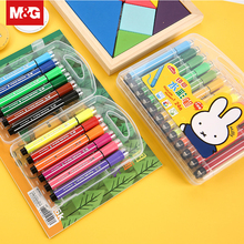 лучшая цена Non-toxic Children Painting Watercolor Pen 12/36 Colors Creative Student Washable Art Markers School Drawing Supplies FCPN0211