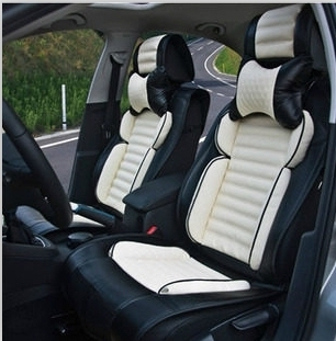 Special Seat Covers For Toyota Corolla 2014 Durable Carbon Fiber Leather
