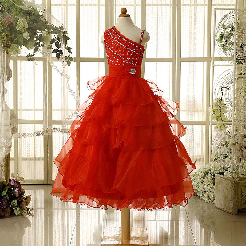 0939fec7c629d ⊹Formelle Fleur Fille Robes Princesse De Demoiselle D honneur De ...