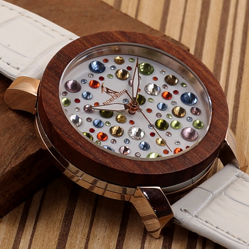 2017 Luxury Brand BOBO BIRD Watch Women Wooden Watches