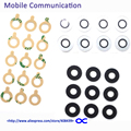 10pcs Black White G3 Rear camera glass lens with Adhensive Sticker For LG G3 D850 D851 D855