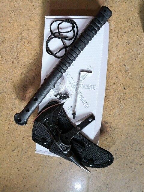 FBIQQ Tactical Axe Tomahawk Army Outdoor Hunting Camping Survival Machete Axes Hand Tools Fire Axe Hatchet Axe/Ice Axe 3