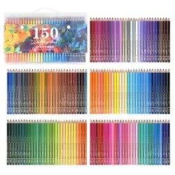 CHENYU 150 Matite Colorate Prismacolor Lapis de cor 160 core Solubile In Acqua Matita di colore per la Scuola di Arte del chiodo Forniture