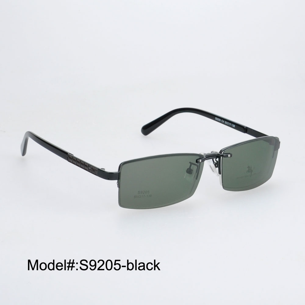 b4152b68ef MY DOLI S9205 Free shipping Clip On sunglasses polarized with frame  sunshades sun glasses