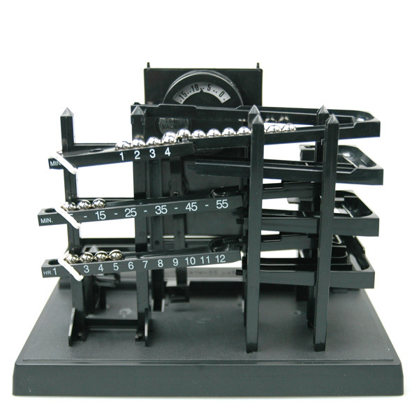 Time , steel ball mechanical clock wall clock in Time