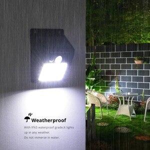 Image 3 - Sensore PIR Prato Inglese HA CONDOTTO LA Lampada A Energia Solare Della Luce Della Parete del Sensore di Movimento del Rivelatore Intelligente di Controllo On Off Luz Solare Giardino Esterno di sicurezza