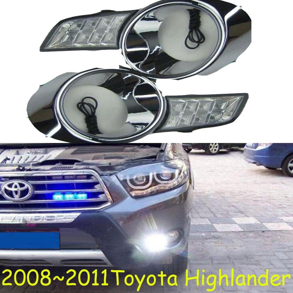 LED,2008~2011 Highlander day Light,Highlander fog light,Highland headlight;vios,corolla,camry,Hiace,sienna,yaris,High lander спальный мешок high peak highland
