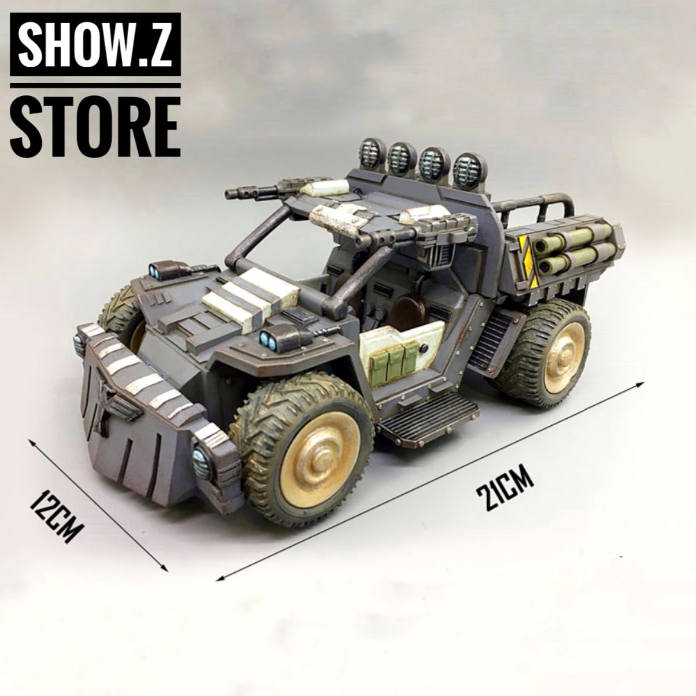 все цены на [Show.Z Store] JoyToy Source Acid Rain Vehicle Rhinoceros Scout Car Ver.1 Action Figure онлайн