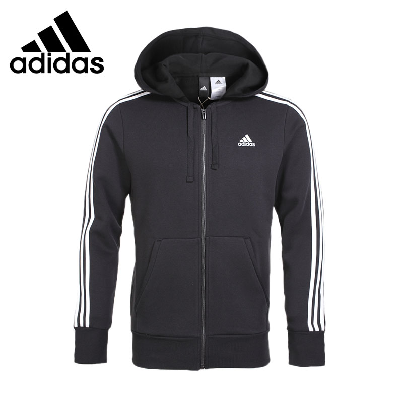Original New Arrival Adidas Performance ESS 3S FZ B Men's jacket Hooded Sportswear ah 62c detox foot spa dual person foot spa massager machine ion cleanse foot spa device ionic detox foot spa fir belt