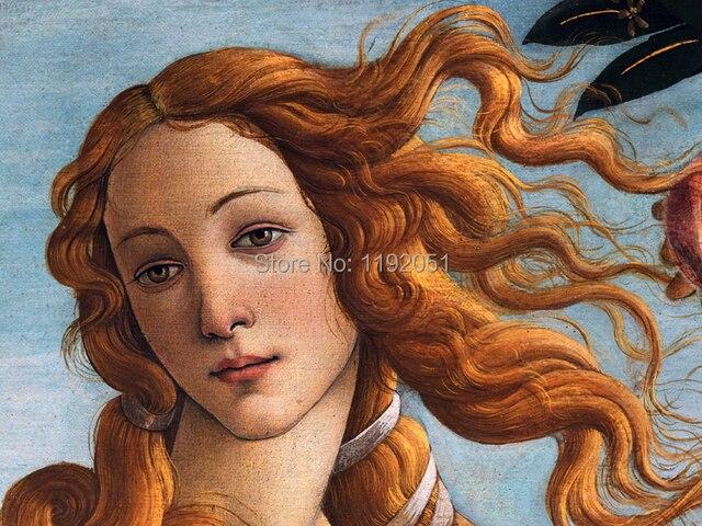 135 Foto De Venus Desnuda Paisaje Pintura Lienzo Impresiones Mar Retrato Detallado De Sandro Botticelli El Nacimiento De Venus C1485 En