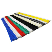 PP/ABS/PE/PPR/PVC white black red green clear grey blue yellow for auto car bumper repair garage tools plastic welding rods