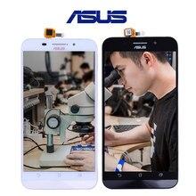 Original Para ASUS Zenfone Max LCD Pantalla Dual SIM 4G LTE para ASUS Zenfone Max Pantalla Táctil con Enmarcador ZC550KL Z010DA