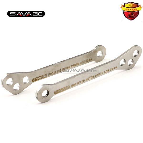 For TRIUMPH TIGER 800/XC 2011 2012 2013 Motorcycle Adjustable Stainless Steel Suspension Drop Link Kits Lowering Links Kit lowering links kit for triumph tiger 800 xc 2011 2015 motorcycle adjustable rear suspension drop link kits stainless steel