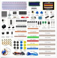 Elecrow Electronic Component Kit for Arduino Starter with Breadboard+LED