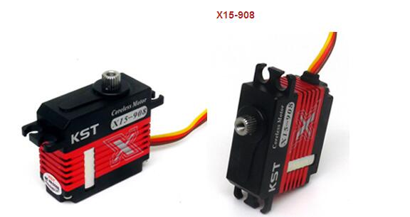 KST X15-908 Metal Gear Micro Digital Servo For RC Robot UAV Airplane original kst x08 v5 3 8 7 4v 8g metal gear micro digital servo for rc robot module uav airplane for rc helicopter spare parts page 7
