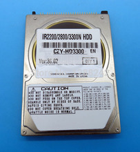 Genuine HDD for Toshiba MK6017MAP FK2-4907-000 500gb 5400rpm ide hard disk drives 40GB HDD for iR 2220i/2220N/3320i/3320N
