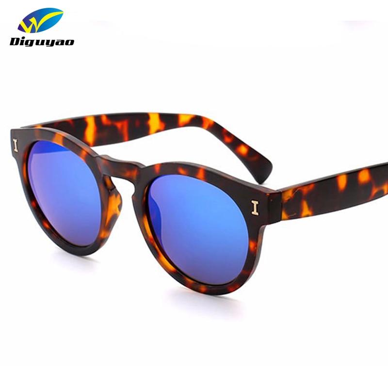 2018 mode frauen runde sonnenbrille marke design vintage beschichtung sonnenbrille spiegel brillen frauen oculos de sol feminino