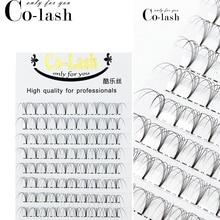 Colash Premade Russian Volume Fans 3d/4d/5d/6d Mink Eyelashes Short Stem Lash Pre made Eyelash Extensions Supplies