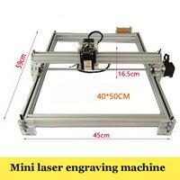 1PC Large Area Laser Engraving Machine 5500mw DIY Laser Engraver IC Marking Printer Carving Size 40X50cm